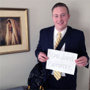 Elder Jaron Allred (WA)Baltimore Maryland MissionEmbark bag