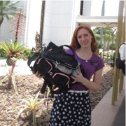 Sister Mandy Smith (GA)Goiania, Brazil MissionHarvest bag