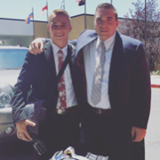 Elder Coda McLaws (AZ)Germany Berlin MissionTract bag