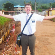 Elder Evan Wolters (OK)Sierra Leone Freetown MissionTract bag